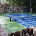 Caledonia Pillars Tennis New-England Fieldstone